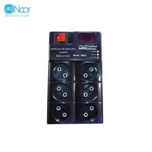 محافظ ولتاژ دیجیتال صانت الکترونیک مدل S6611