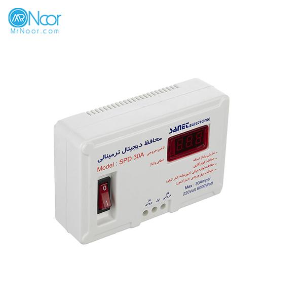 محافظ ولتاژ 30 آمپر صانت الکترونیک مدل SPD30A