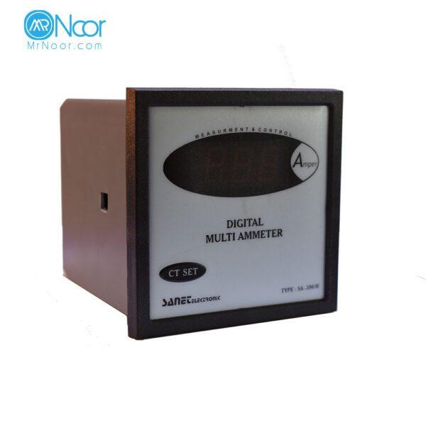 آمپر متر دیجیتالی 96*96 صانت الکترونیک مدل SA396